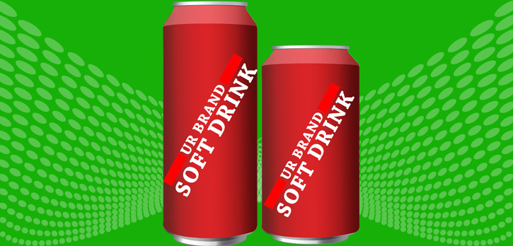 private label soft drink